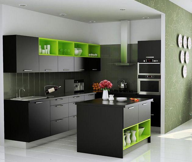 Indian Kitchens, Modular Kitchens, Indian Kitchen Designs ...