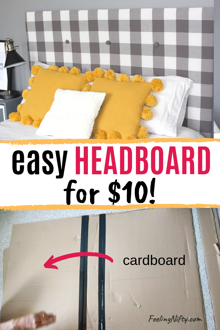 Cheap Diy Upholstered Headboard With Tufting For 10 Diy