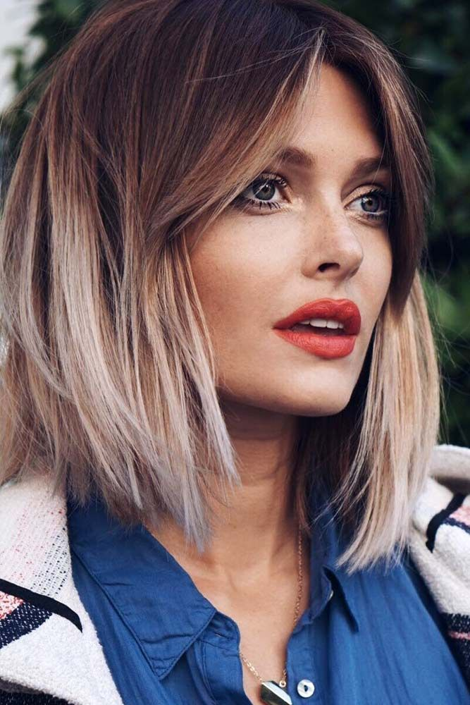 Flattering Hairstyles For Square Faces See More Lovehairstyles