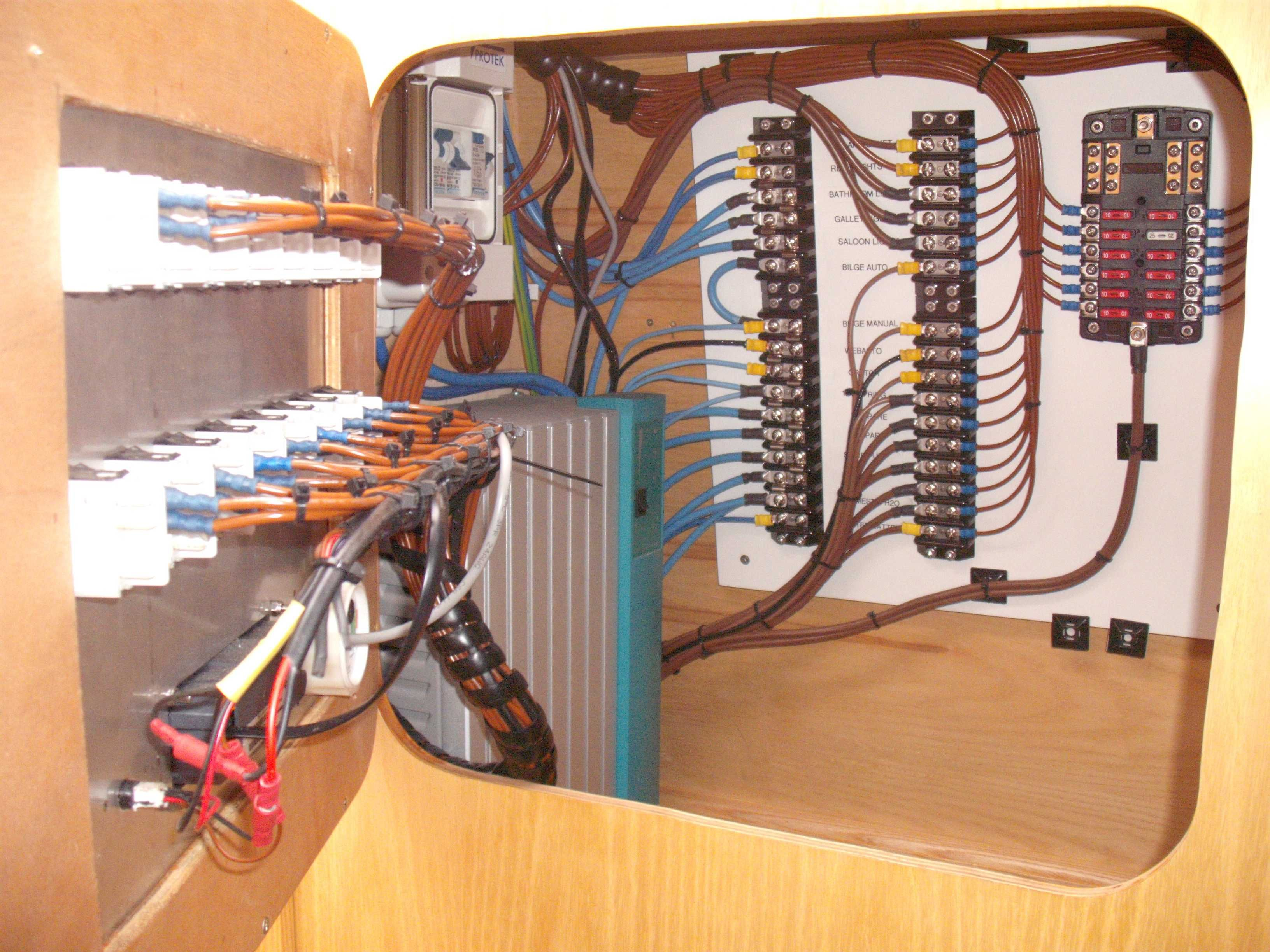 Good example of clean electrics (With images) Liveaboard