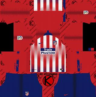 Pin By Kuchalana Dream League Socce On Dream League Soccer Kits Soccer Kits Goalkeeper Kits Atletico Madrid
