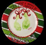 Christmas Handprints #asyouwishpottery #mistletoesfootprintcraft Christmas Handprints #asyouwishpottery #mistletoesfootprintcraft