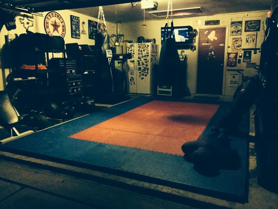 Turn Your Basement Into A Home Gym With One Of Greatmats Numerous Options Of Rubber Foam Or Plastic Tiles Basement Gym Martial Arts Gym Gym Lighting
