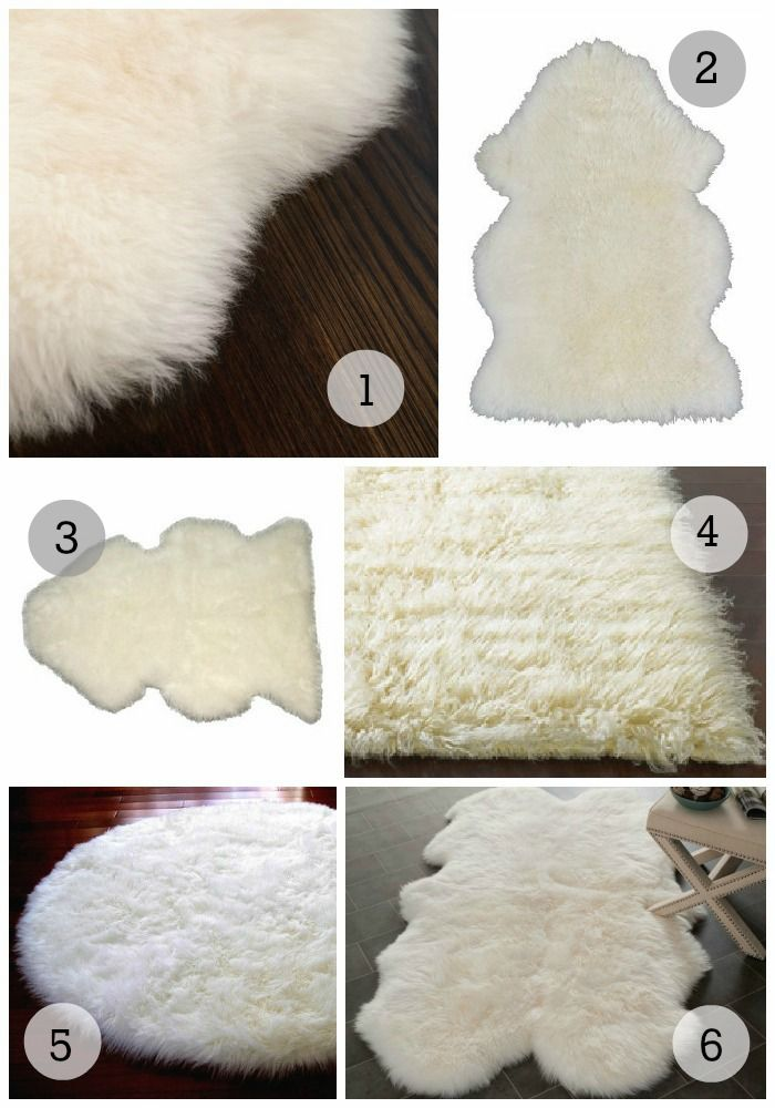 nursery trend watch sheepskin rugs 1 ecowool sheepskin rug 96 2 ikea rens sheepskin 29 3. Black Bedroom Furniture Sets. Home Design Ideas