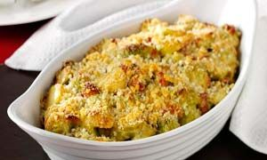 Brussels sprouts Gratin:  For other gratin recipes,check out our web site: vegetarian-cuisine.com