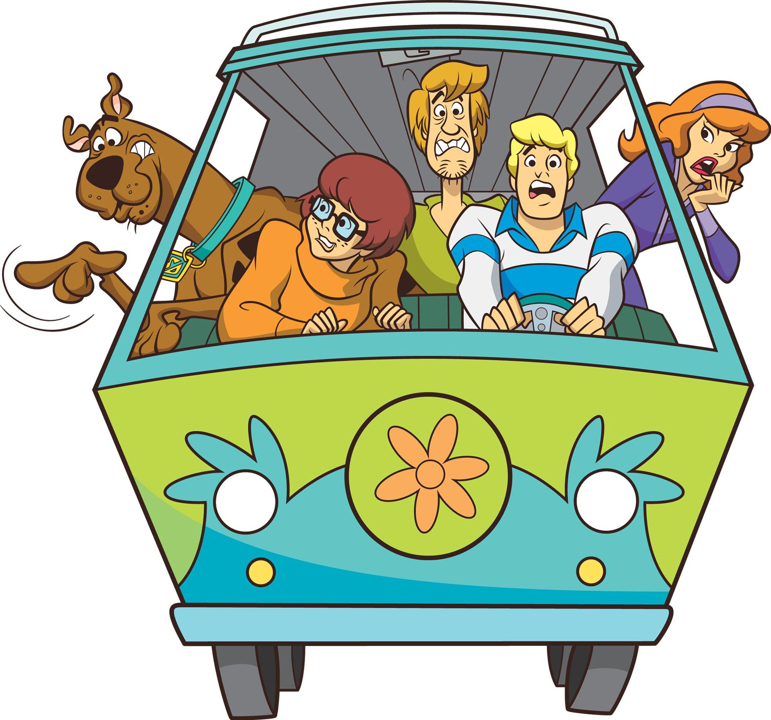 A new scooby doo live action movie is on the way back in - Scooby doo voiture ...