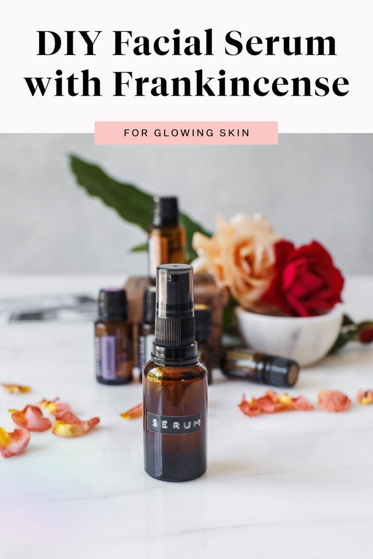DIY Face Serum with Frankincense faceserum This DIY face