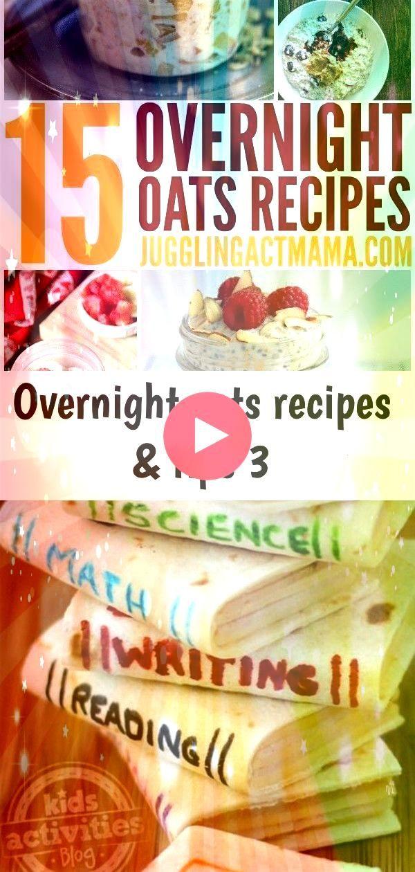 oats recipes  tips 3 15 Easy Overnight Oats Recipes for a NoFuss Breakfast Oh Gott wie niedlich  so kann man Bücher verschlingen während man Bücher verschl...