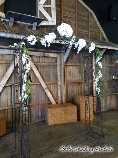 Wrought Iron Arch Bry Anyaas Wedding Pinterest Ceremony And Wooden Arches