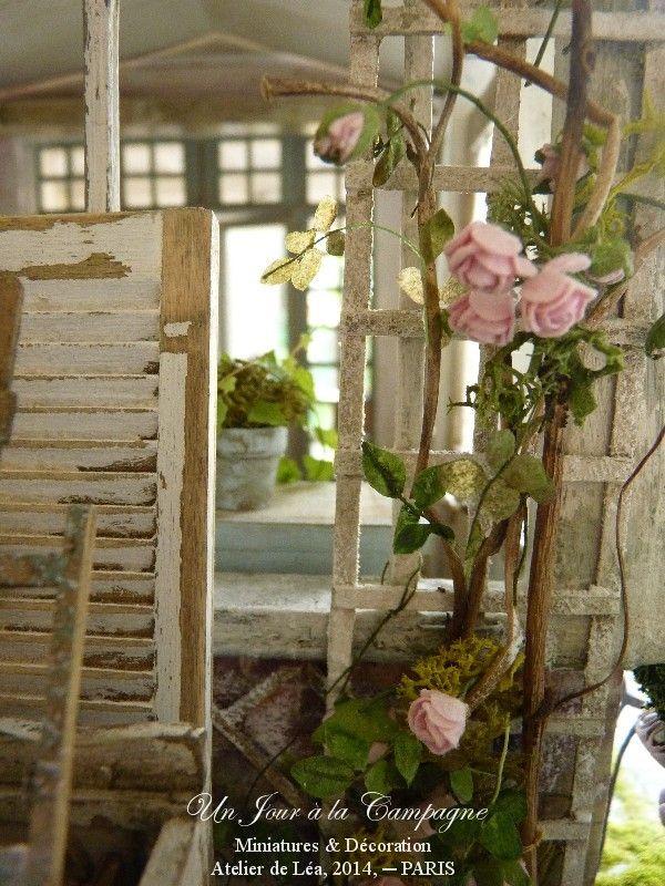 Atelier de l a un jour la campagne spring garden for Le jardin de lea