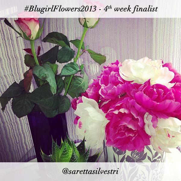 #BlugirlFlowers2013 Instagram Photo Contest finalist @sarettasilvestri