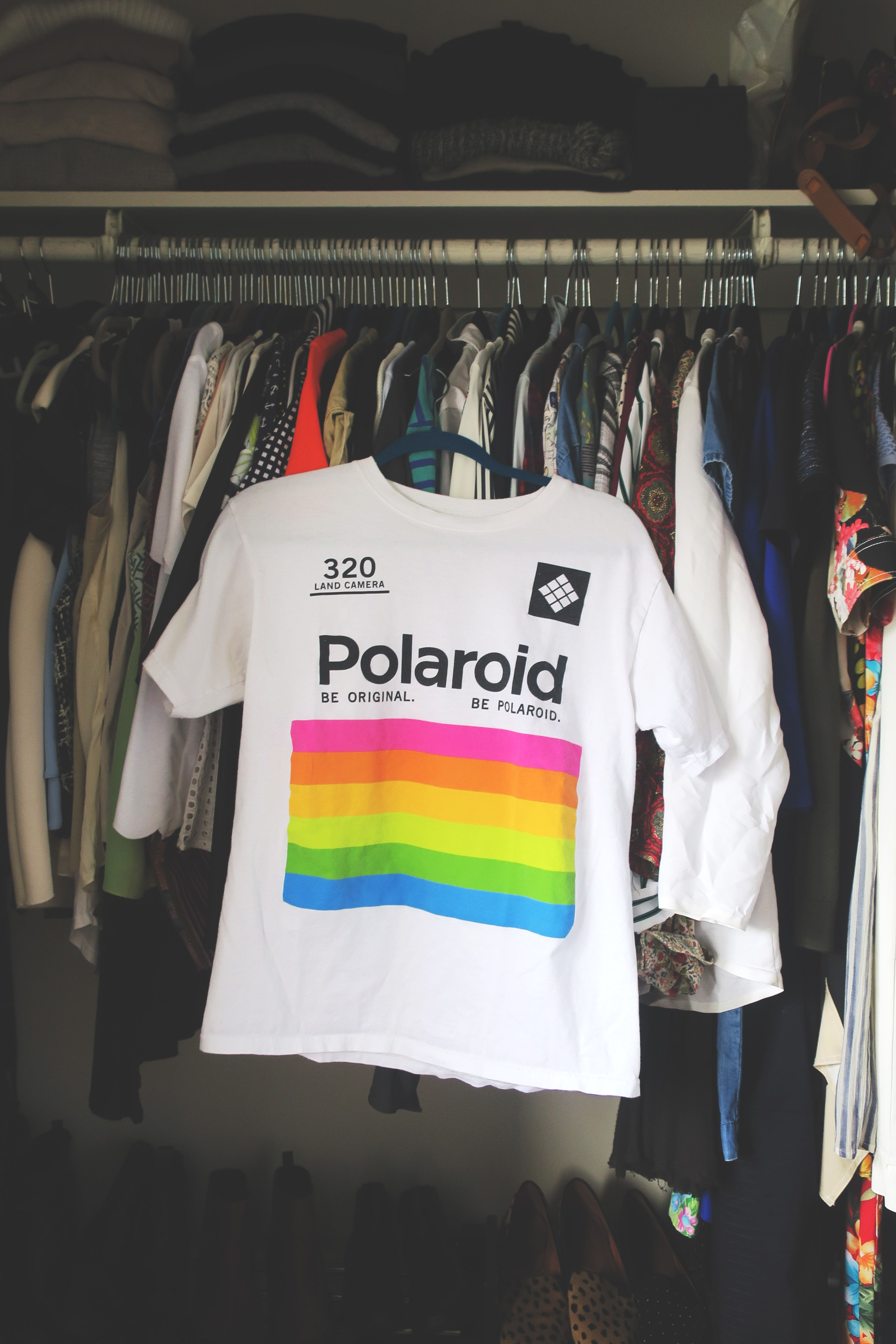 b7814fd9ff53a9 The Polaroid Land Camera 320 tee   Style   Polaroid, Tees, Outfits