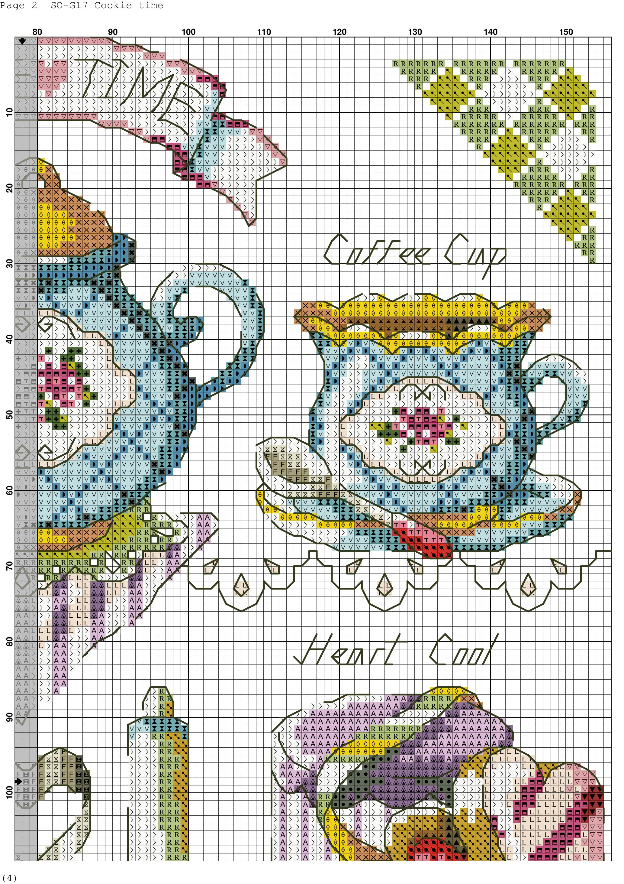 Cookie time xstitching cupcakespastriessweets pinterest