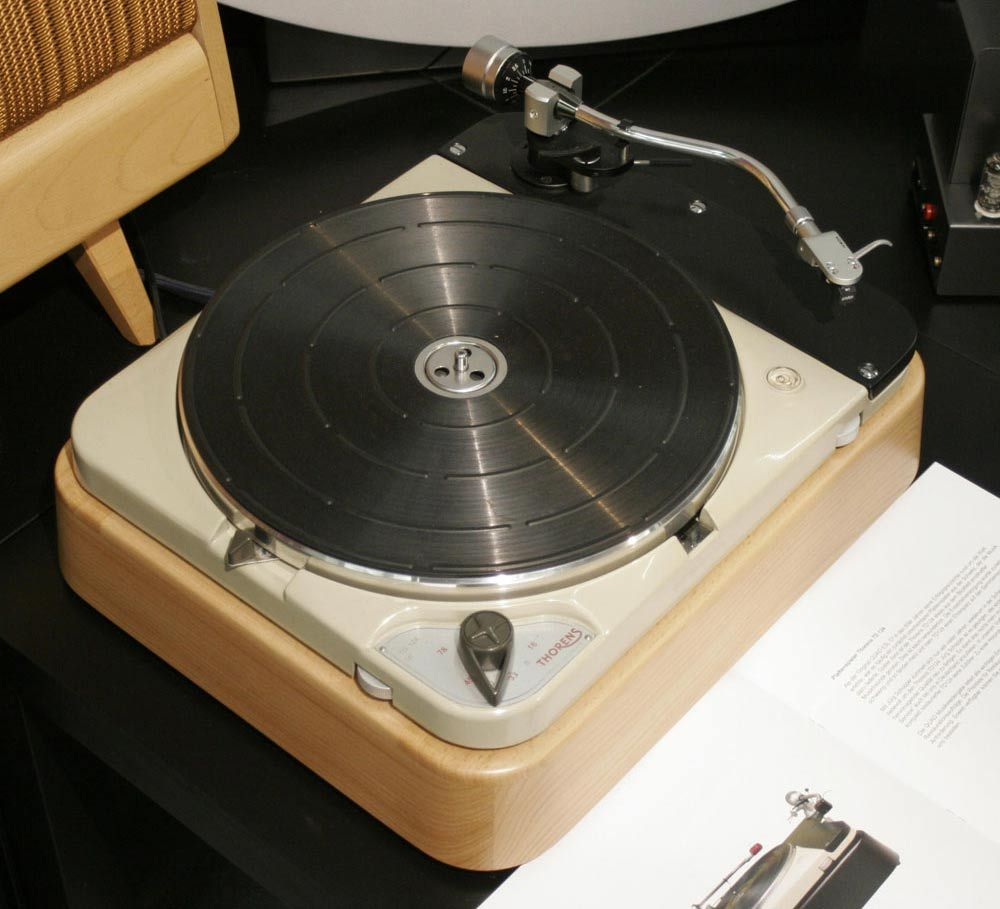 Thorens Td124 Turntable Rebuilt By Quad Musikwiedergabe Turntable Hifi Lp Player