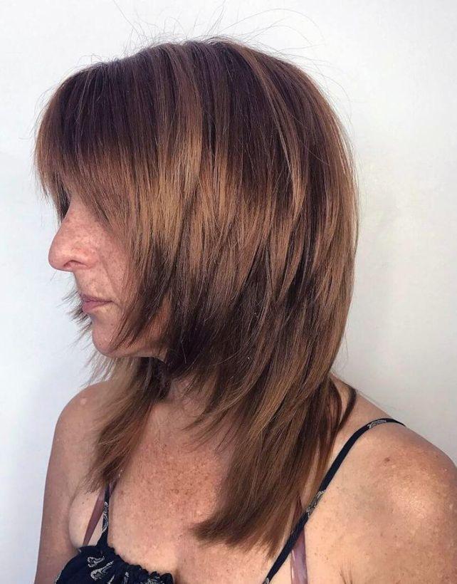 Frisuren Mittellang Stufig Fransig Feines Haar Aktuelle Frisuren