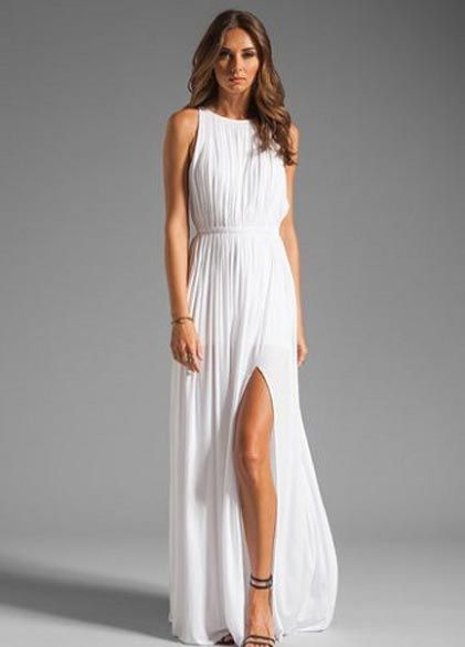 Yazlik Beyaz Uzun Elbise Modelleri Uzun Elbise Elbise Elbise Modelleri