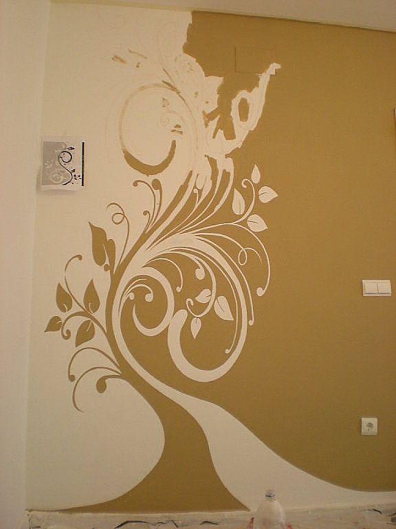 Dudas para separar dos colores decorar tu casa separar for Pinturas para decorar