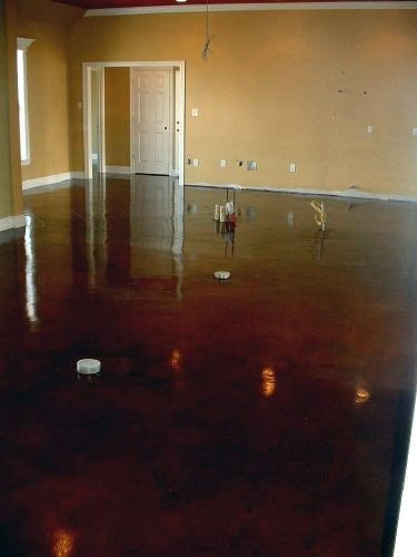 Acid Stained Concrete Cola Acid Stained Acid Stained