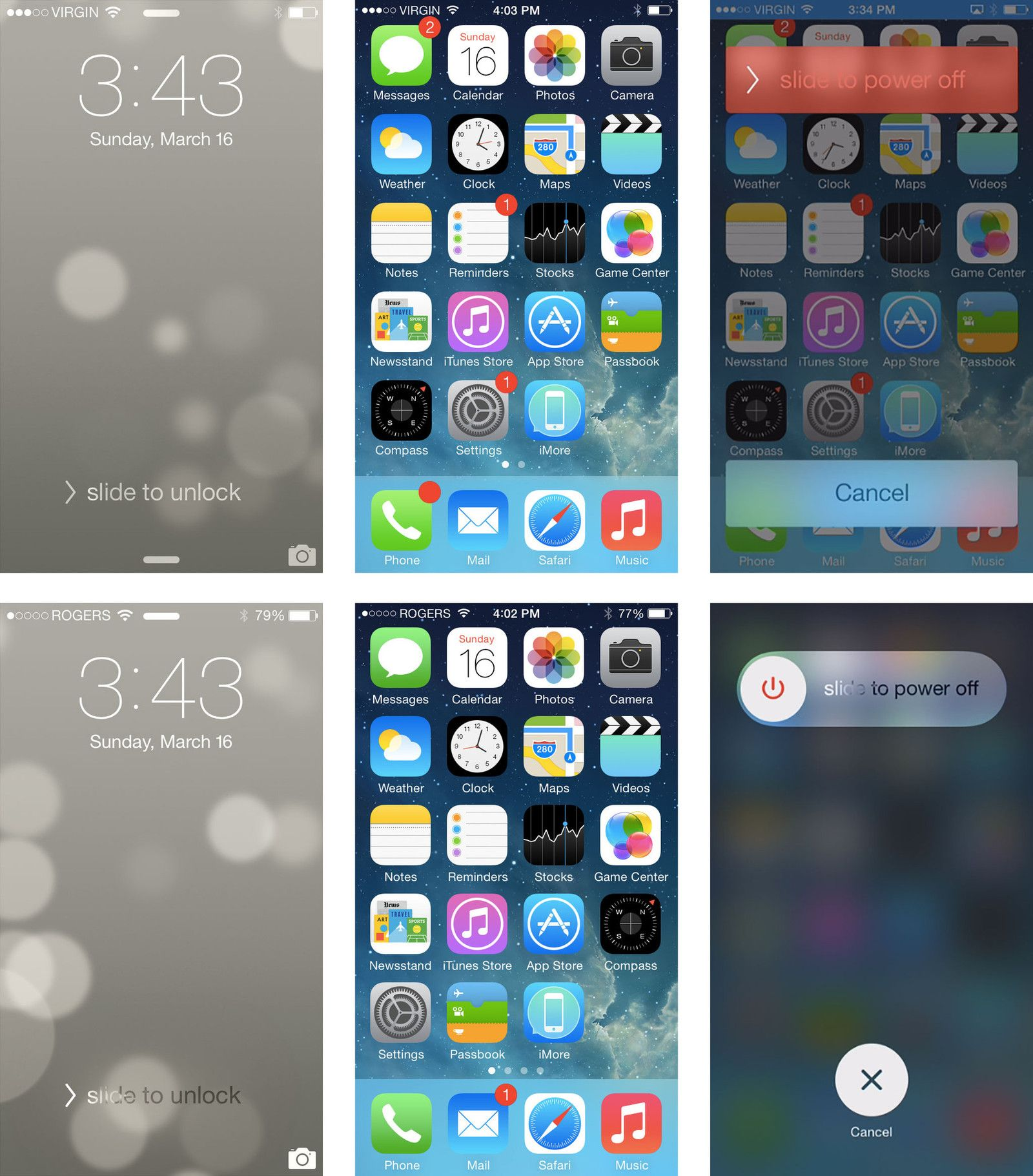 Good reference images for iPhone iOS 7. Иконки