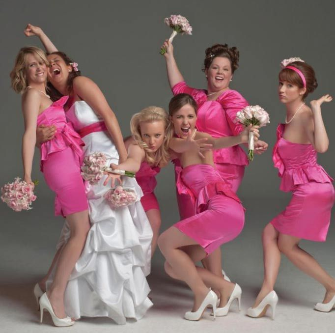 Bridesmaids. 1 of the best movies ever.
