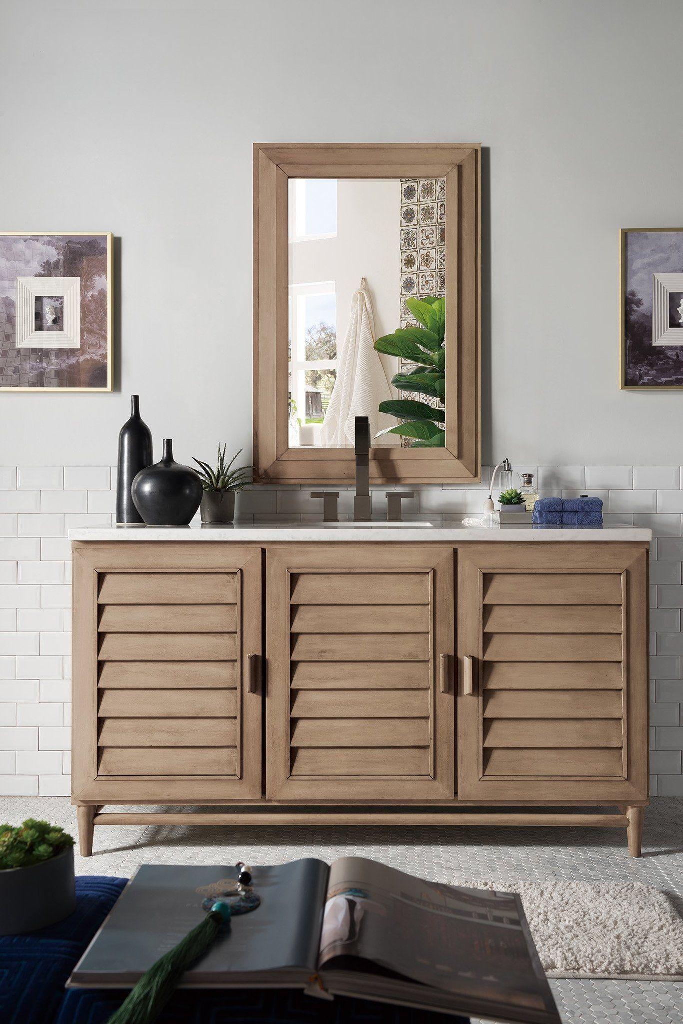 Portland 60 Single Bathroom Vanity In 2021 Single Bathroom Vanity Modern Bathroom Vanity Vanity Design
