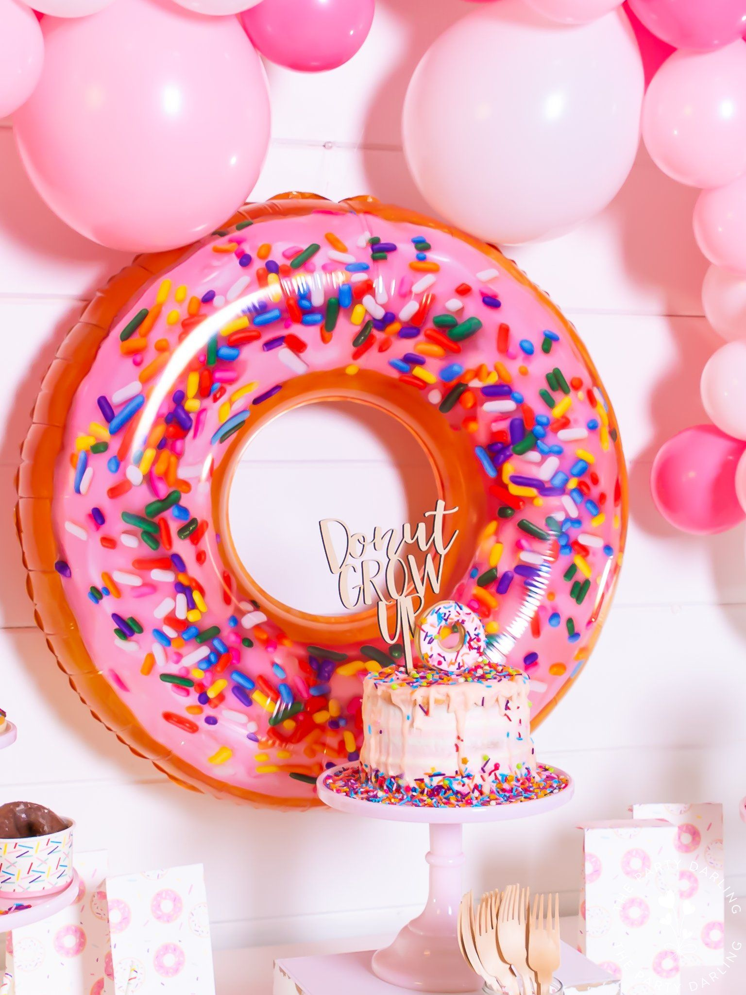 DIGITAL ONLY Donut Favors Donut Theme Hand Sanitizer Label Donut Party Donut Party Favors Donut Birthday Party Donut Baby Shower