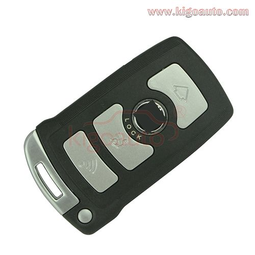 Lx 8766 S Smart Key 4 Button 868mhz With 2032 Battery For Bmw