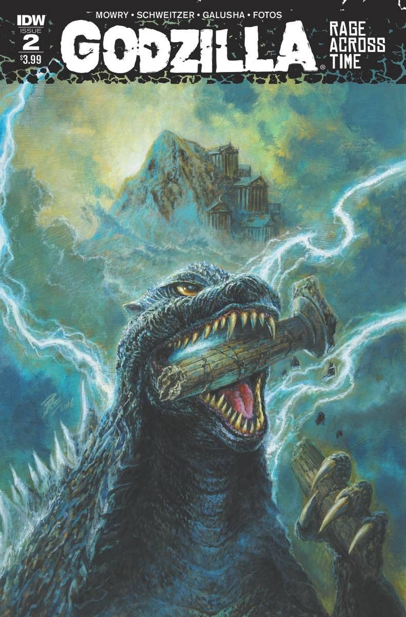 Godzilla Rage Across Time #2 (Of 5)