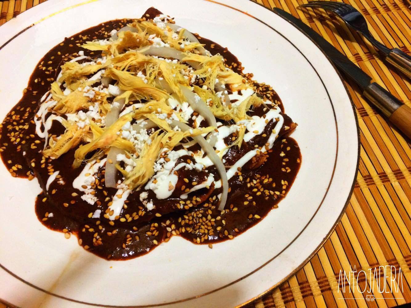 Enchiladas de Mole | Receta | Enchiladas, Mole y Recetas ...