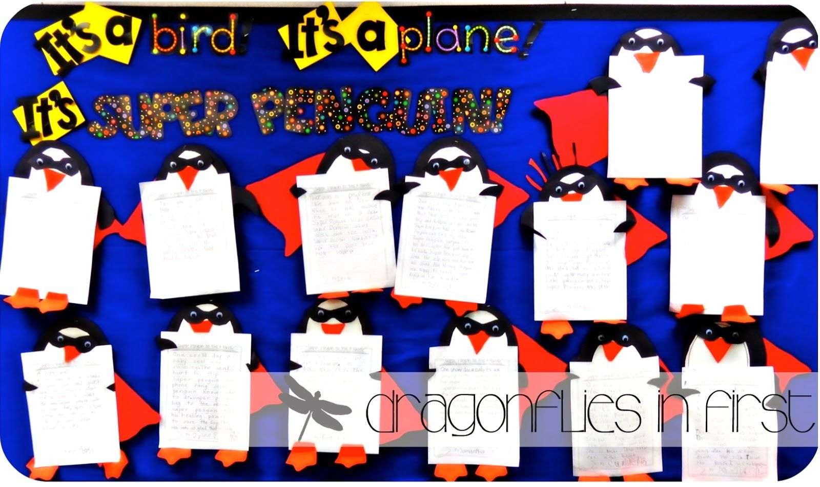 Super Penguin Narrative Writing