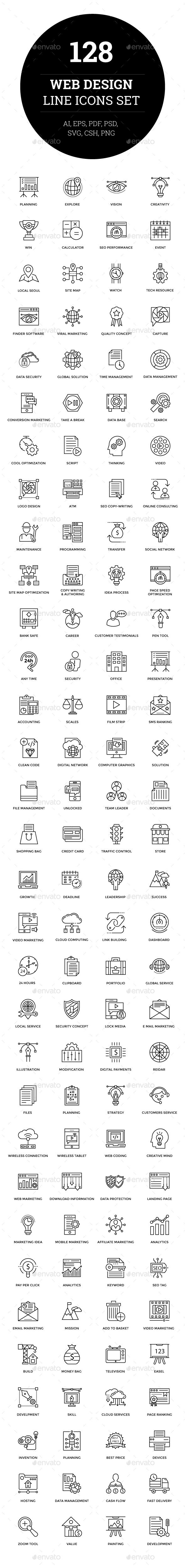 Pin by Sesathasladpx on Logo Design Line icon, Web