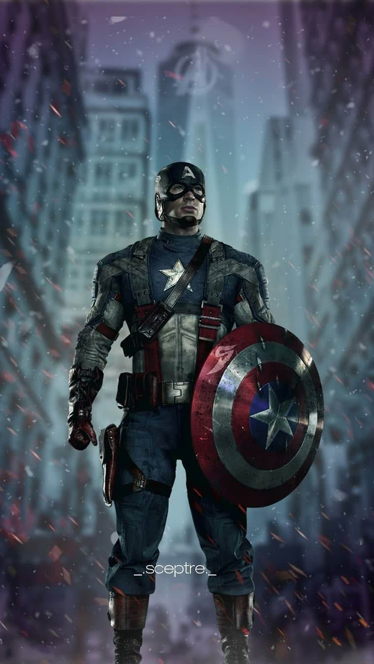 Captain America Avenger Iphone Wallpaper Iphone Wallpapers Marvel Captain America Captain America Wallpaper Captain America