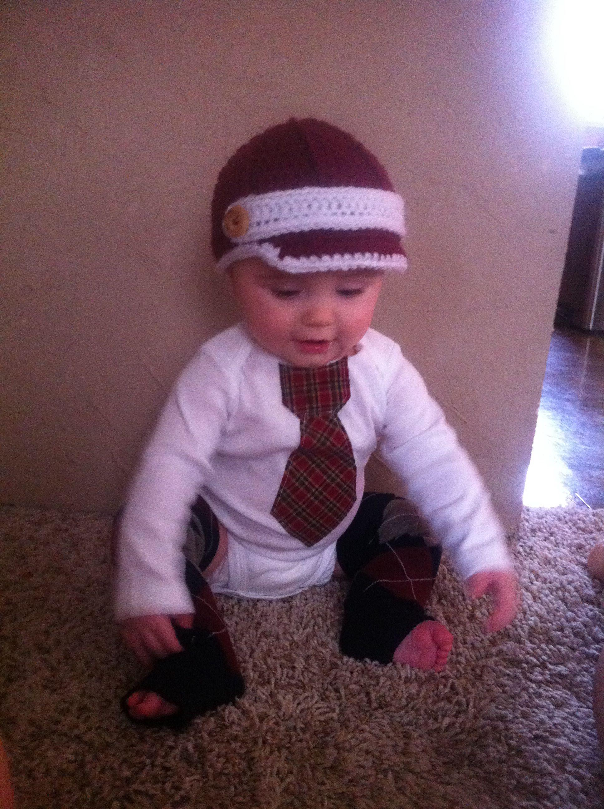 Baby boy, tie onesie, boy leggings