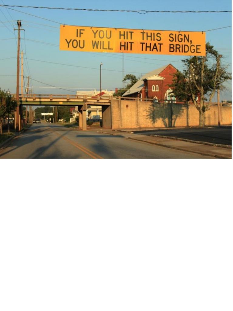 Low Bridge!!!