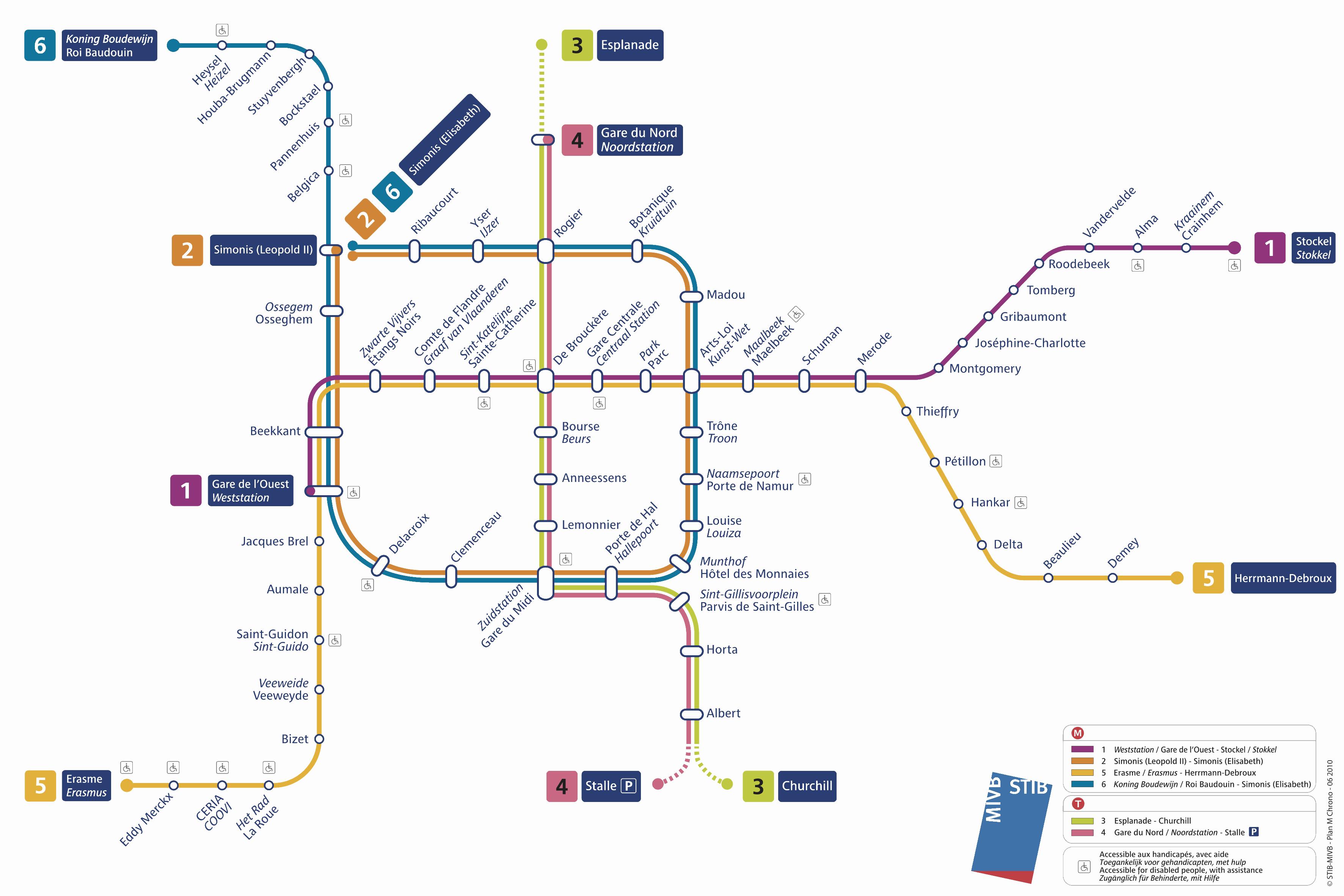 2 3 Train Subway Map.Brussels Metro Favorite Places In 2019 Belgium Tourism Train
