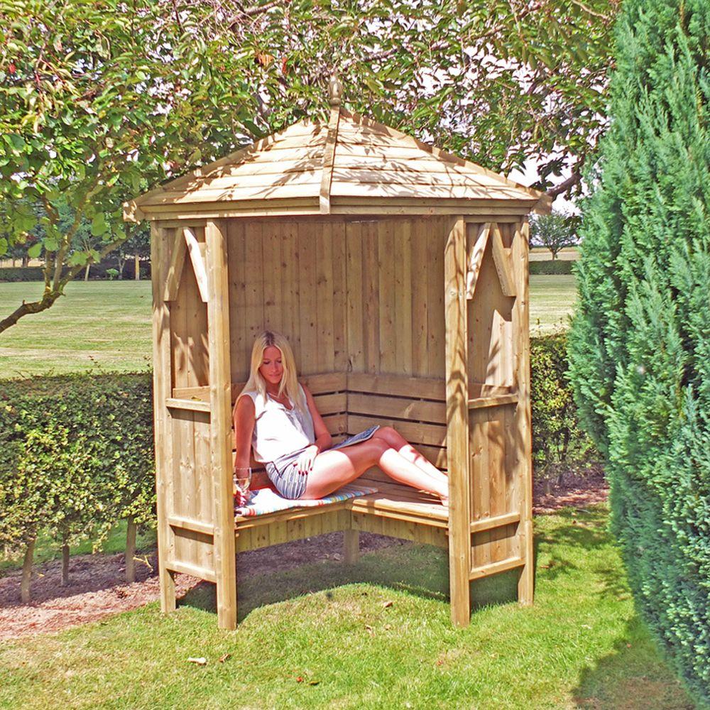 Shire Corner Garden Arbour Garden Arbour Seats