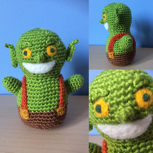 Clash of Clans/Royale Goblin - free crochet pattern by KaBon ...