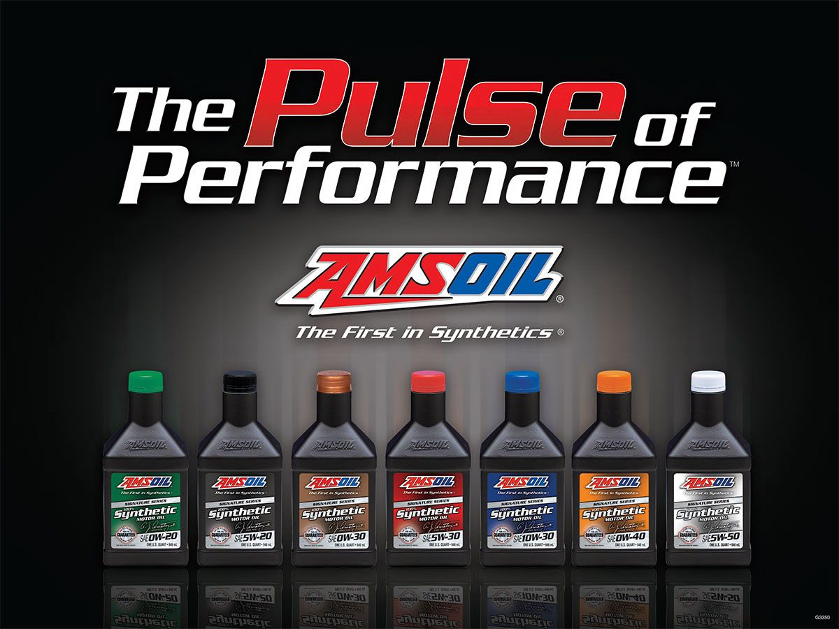 Amsoil Signature Series The Pulse Of Performance Poster Amsoil