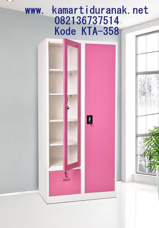 Jasa Pembuatan Desain Lemari Anak Minimalis Pink 2018 Murah, Model Lemari Baju Anak Warna Pink, Lemari Pakaian Anak 2 Pintu…   Lemari Pakaian, Desain Lemari, Lemari