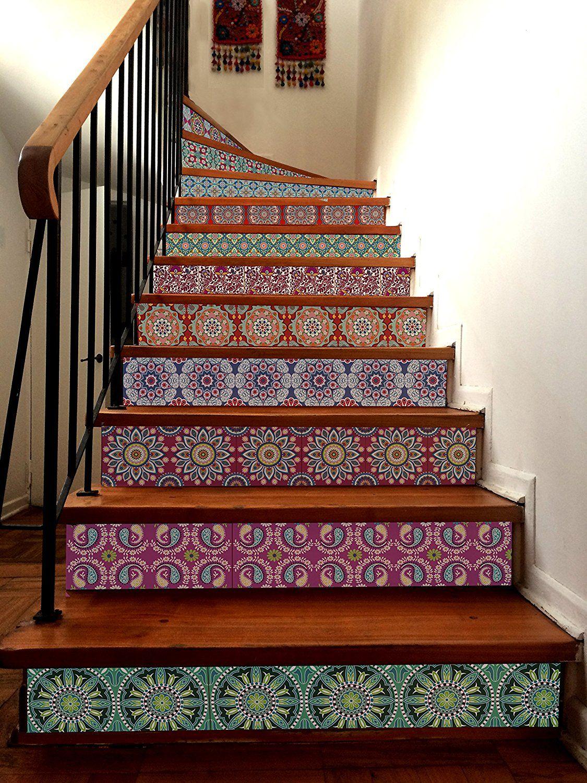 INDIA Decorative Tile Stickers Set 12 units