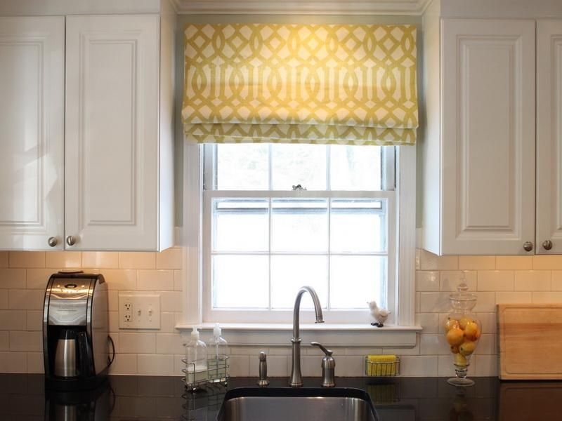 images about window treatments on   contemporary,Modern Kitchen Window Curtains,Kitchen ideas