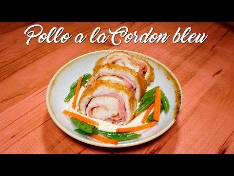 Pollo a la Cordon Bleu con Salsa Bechamel - A Comer COCINANDO
