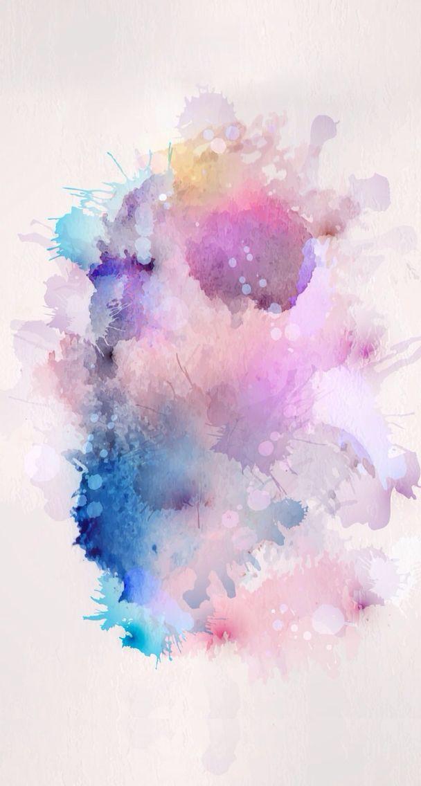 éclaboussure | Fond d'aquarelle, Abstrait, Tache peinture
