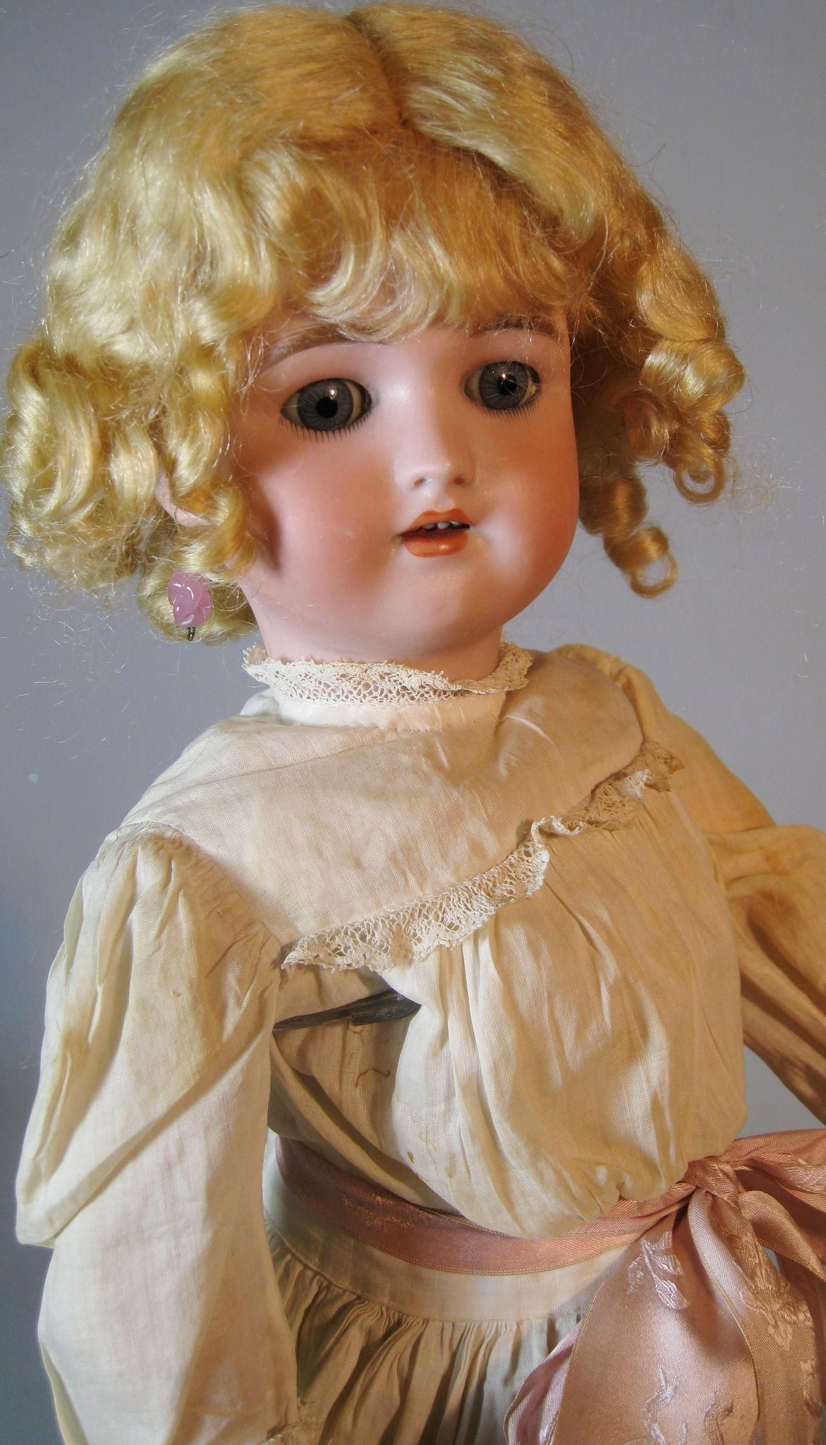 "18"" Simon Halbig Handwerck Antique German Doll ~ All Antique Original Clothing - 18"" Simon Halbig Handwerck Antique German Doll ~ All Antique Original Clothing"