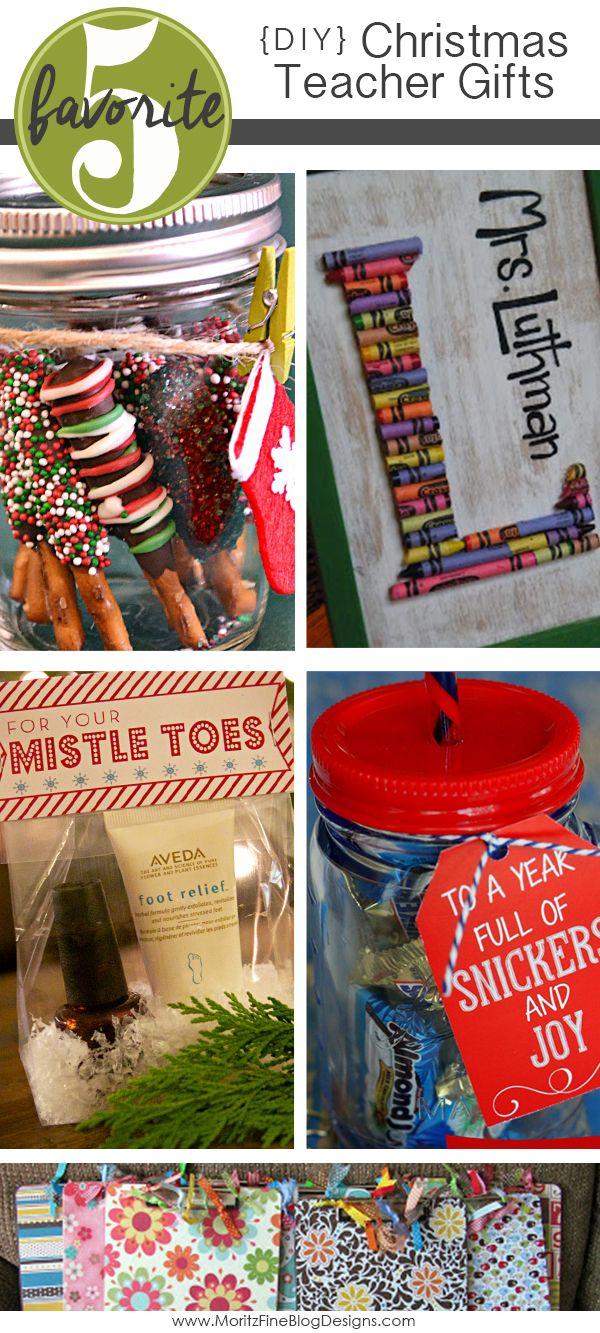 DIY Teacher Christmas Gifts | Teacher christmas gifts, Children s ...