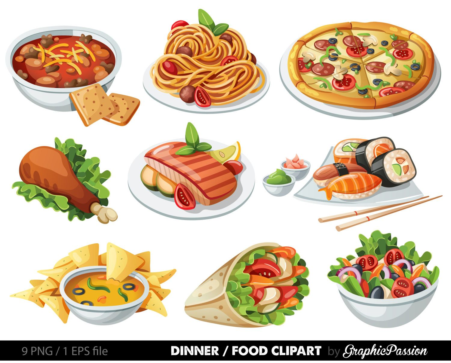 Food Clipart Images Look At Clip Art Images Clipartlook In 2020 Food Clipart Food Clips Food