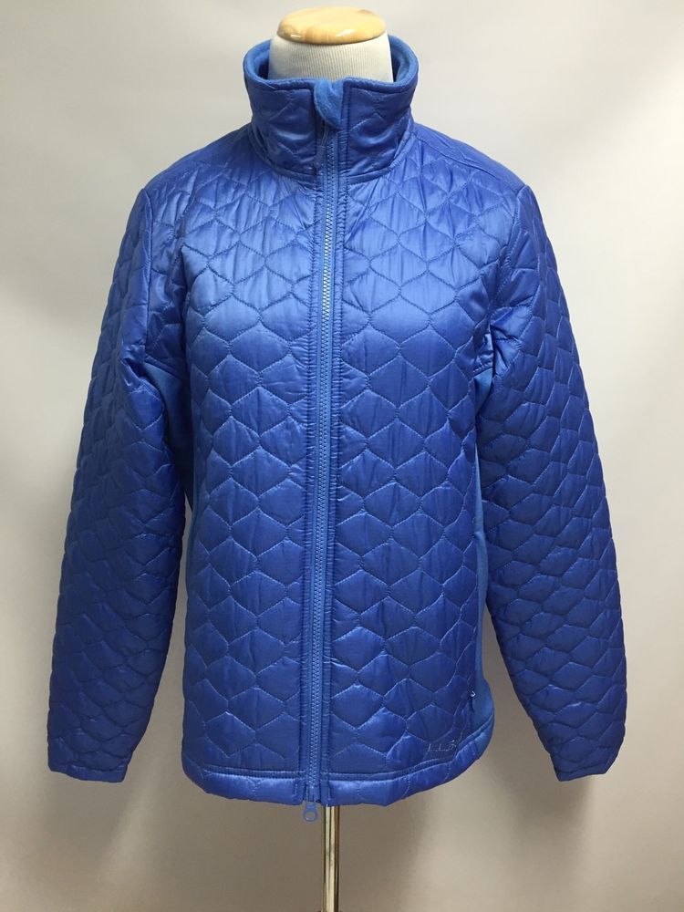 06eab1c181 LL Bean Womens  Jacket Thinsulate Insulated Quilted Winter Puffer Coat NEW  Size M  LLBean  Puffer