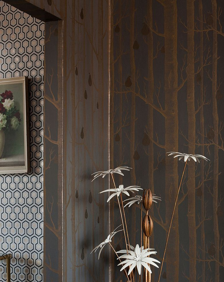 papier peint woods cole and son | Wallpapers/Behang | Pinterest ...