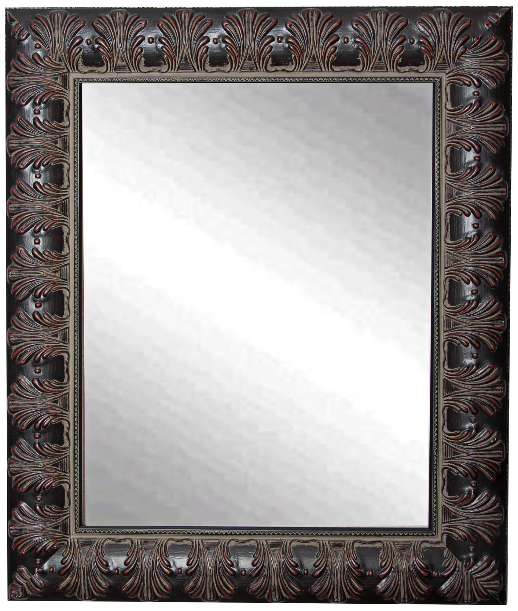 Grantly Mahogany Accent 30 1 2 X 36 1 2 Wall Mirror 6x308 Lamps Plus In 2020 Mahogany Accents Mirror Wall Mirror [ 2000 x 1695 Pixel ]