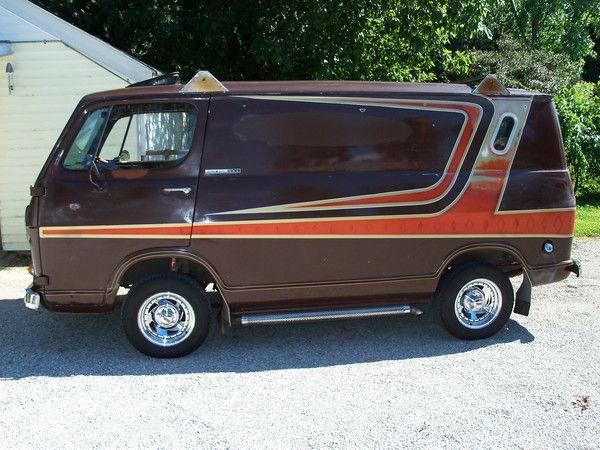 1964 Chevy Van Custom Vans Vintage Vans
